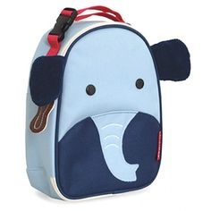 Skip Hop elephant lunch bag: Not just for back to school! Great preschool birthday gift idea