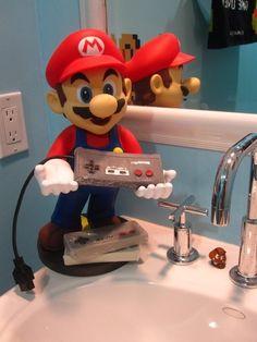 Super Mario Bathroom