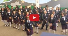 "This impressive, choreographed kids choir rendition of Pharrell's ""Happy"" will brighten your day"