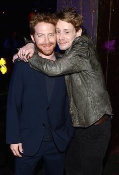 Seth Green and Macaulay Culkin. swoon and swoon.