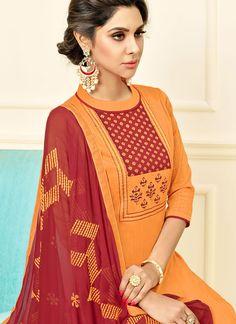 Churidar Suits, Salwar Kameez, Kurti, Neck Designs For Suits, Dress Neck Designs, Salwar Suits Online, Designer Salwar Suits, Hand Embroidery Dress, Kurta Neck Design