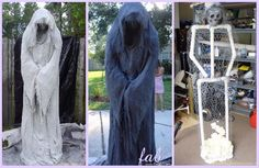 Diy halloween decorations 305118943506286956 - DIY PVC Monster Mud Reaper Ghost Halloween Decor Tutorial Source by Halloween Outside, Soirée Halloween, Homemade Halloween Decorations, Adornos Halloween, Manualidades Halloween, Halloween Haunted Houses, Halloween Snacks, Halloween Party Decor, Halloween Tutorial