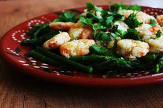 Cozinhadaduxa: Salada de Espargos com Camarão