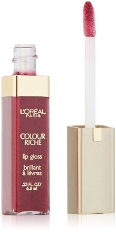 L`Oreal Paris Colour Riche Lip Gloss, Rich Plum, 0.23 Ounces - List price: $6.99 Price: $5.97 Saving: $1.02 (15%)