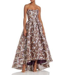Designer Clothes, Shoes & Bags for Women Aqua Prom Dress, Strapless Dress Formal, Aqua Dresses, Long Dresses, Evening Gowns On Sale, Evening Dresses, Brocade Dresses, Dresses To Wear To A Wedding
