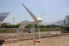 Ejemplo de turbina eólica