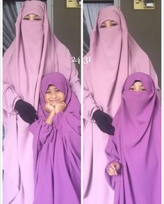 Modesty Fashion, Abaya Fashion, Modest Clothing, Modest Outfits, Hala Al Turk, Abaya Pattern, Mother Daughter Pictures, Face Veil, Black Gloves