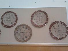 """""""Noitarummut"""". Alakoulun aarreaitta FB -sivustosta / Annu Montell Geography, Clock, Symbols, Crafts, Ideas, Decor, Watch, Manualidades, Decoration"""