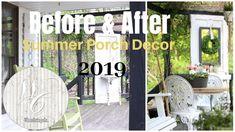 Porch Decor Ideas ~ Summer Porch ~ Farmhouse Porch Decor ~ Porch Swing I...