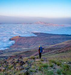 #nature of #iran #damavand #hights #clouds