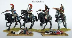 FN120 Plastic French Napoleonic Heavy Cavalry box set (Cuirassiers/Carabiniers, 14 figures), Perry Miniatures