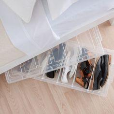 Howards Storage World Easi 6 Shoe Underbed Box With Wheels Think Toys