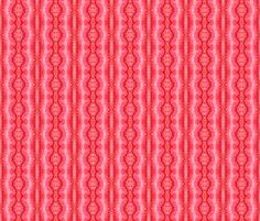 Now available! Pylori Fantasy Plaid - Electric Coral fabric by tequila_diamonds on Spoonflower - custom fabric