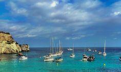 Cala en Turqueta, Menorca, Spain.