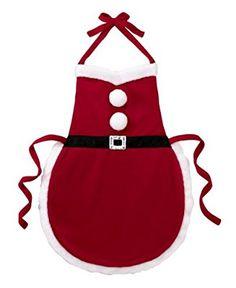 Ganz Christmas Apron - Multi Purpose Santa Suit Apron