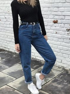 Mom jeans tradicional and vintage