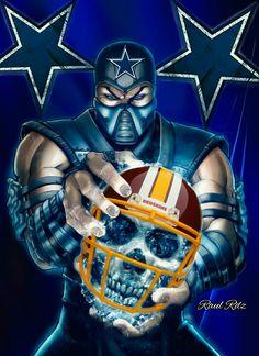 Dallas Cowboys (Sub-Zero) Dallas Cowboys Vs Redskins, Dallas Cowboys Tattoo, Dallas Cowboys Posters, Dallas Cowboys Funny, Dallas Cowboys Wallpaper, Dallas Cowboys Decor, Dallas Cowboys Pictures, Pittsburgh Steelers, Indianapolis Colts