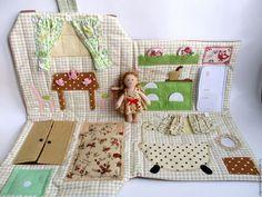 Игровой домик-сумочка от Ольги Вайды  купить ярмарка мастеров ручная работа handmade Vaida