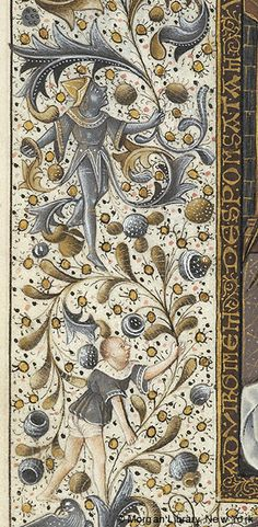 Book of Hours, MS M.854 fol. 53v - Images from Medieval and Renaissance Manuscripts - The Morgan Library & Museum