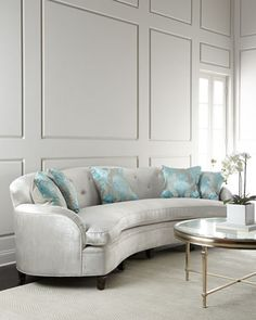L\'Amour Tufted Sofa by Haute House at Neiman Marcus.