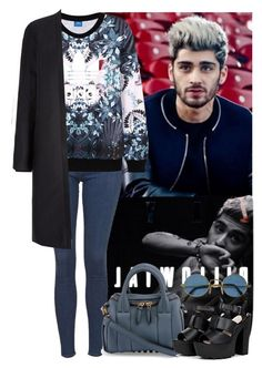 """""""BLUE"""" by zayngirl27 ❤ liked on Polyvore featuring Topshop, adidas Originals, Alexander Wang and zaynmalik"""