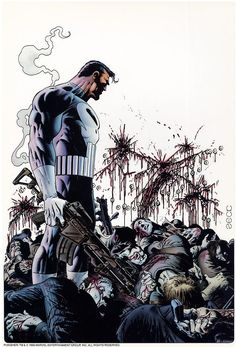The Punisher - Mike Zeck  Zeck did some of the best interpretations of the Punisher's appearance in his run.