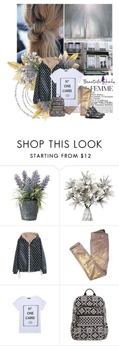 """""""Beautifulhalo 14 January"""" by lagomera ❤ liked on Polyvore featuring OKA, La Femme, WithChic, Zadig & Voltaire, Vera Bradley, Converse and beautifulhalo"""