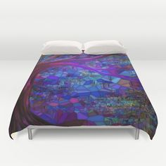 Mystery In The Forest Duvet Cover