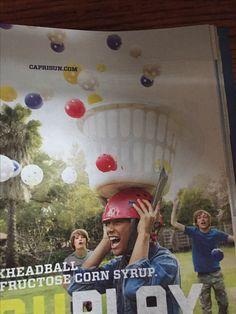 Baskheadball using the plastic balls purchased for giant kerplunk.