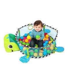 This Grow-With-Me Activity Gym & Ball Pit by Infantino is perfect! #zulilyfinds