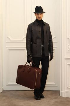 """Attention elegant men, this Loewe look is for you."" Great sleek outfit"