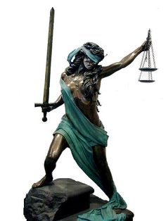 blind lady of justice images | the blindfolded figure with scales is an allegory of justice