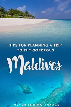 Planning a Trip to the Maldives on a Budget The Maldives are one of the prettiest destinations whether you're traveling solo or on a honeymoon. Here's a guide on how to plan a trip if you're on a budget! Maldives Beach, Maldives Honeymoon, Visit Maldives, Maldives Travel, Maldives Trip, Solo Travel, Asia Travel, Cool Places To Visit, Places To Travel