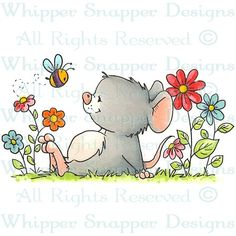 Miss Blossom - Spring/Summer 2014 - Rubber Stamps - Shop