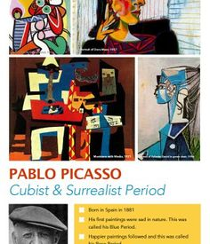 Picasso Art Poster for the art room
