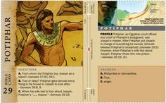 Potiphar - bible character card - jw.org