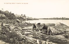 Puerto de Belem. Iquitos [fotografía]