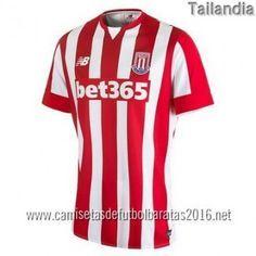Camisetas de futbol baratas tailandia Stoke City 2016 1ª equipación €20.99  Tailandia 7f8e578e368a6
