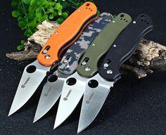 Ganzo G729-CA Axis Lock Folding Knife Pocket Clip - CAMOUFLAGE