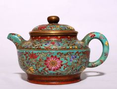 "China High Quality Antique Handwork Yixing Zisha Teapot Mark ""QianLong"" PT115 | eBay"