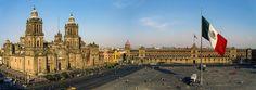 La Catedral de la Ciudad de Mexico y el Zocalo, Mexico by Pedro Lastra on Flickr