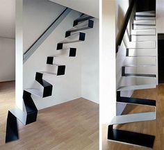 Coleção de projetos exclusivos e criativos de escadas (49 fotos) - Metamorfose Digital