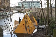 AOR Unveils Floating Platform for the London Wildlife Trust. Mariana Miranda e Ana Domingos
