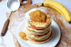 Yogurt Pancakes, Polish Recipes, Deserts, Good Food, Food And Drink, Dinner, Breakfast, Women's Fashion, Diet