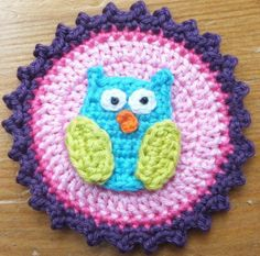 Owl button
