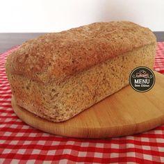 Venha aprender a receita de pão sem glúten e sem lactose de Painço e Linhaça!