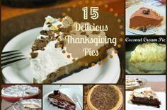 15 Delicious Thanksgiving Pies