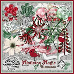 MISTLETOE MAGIC Elements and Papers