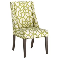Owen Wingback Dining Chair - Metro Pear