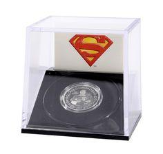 $10 2013 Fine Silver Coin 75th Anniversary of Superman: Vintage - one each for Jake and Drew.  June 2014 $54.95 each Silver Coins, Superman, June, Anniversary, Vintage, Silver Quarters, Vintage Comics